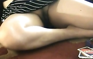 Pantyless Sister Flashing Pussy While Carrying-on Poker - PORNMELA.COM